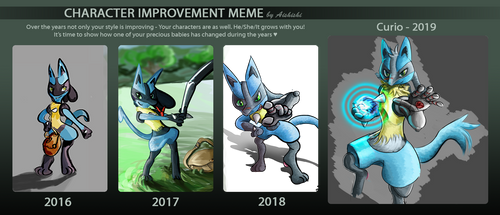 Curio Improvement Meme by NebulaDreams