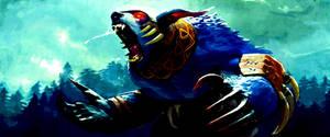 Ursa Warrior Dota 2 by abadauy