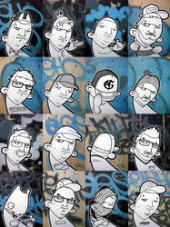 Exhibition Portraits by thekillergerbil