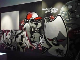 Black Urban Art by thekillergerbil