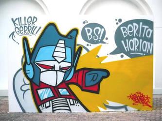 Optimus Grime by thekillergerbil
