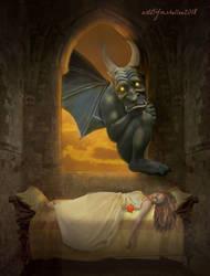 Gargoyle by mshellee
