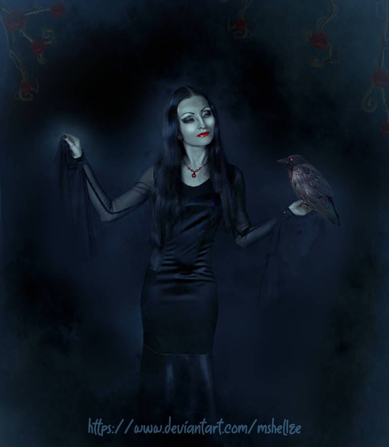 Morticia by mshellee