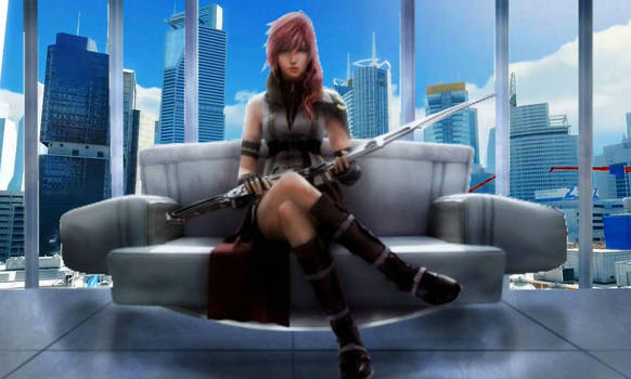 Final Fantasy XIII x Mirror's Edge by SophiaSoftpaws