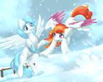 Winter Fun - Art Trade by TokoKami