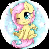 Fluttershy Chibi - Dec 22th by TokoKami