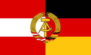 Flag of the Austro-German Democratic Republic by zeppelin4ever
