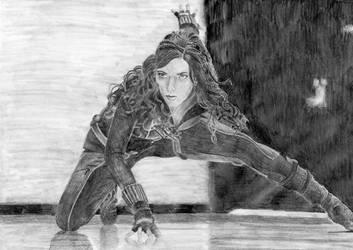 The Black Widow by misslysiak