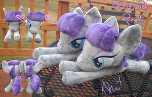 Maud pie plushies by BubbleButtPlush