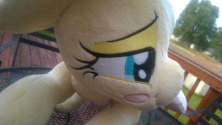 NSFW Fluttershy Plush sold by BubbleButtPlush