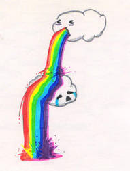 PUKE RAINBOWS by camunategui