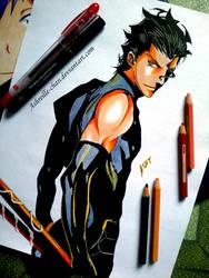 Lancer (Fate Zero) by Ashreille-chan