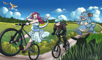 Onwards on our Pokeventure by Dapper-Cat