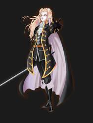 SOTN Alucard by TimTamDraws