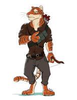 Tiger Adventurer by Temiree