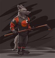 Sahara Square Predators Hockey Player (Zootopia) by Temiree