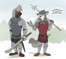 Commission: Knighteclipse by Temiree