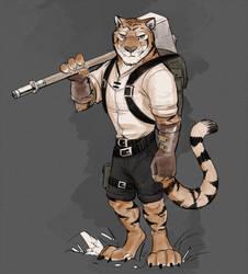Tiger 'n Hammer by Temiree