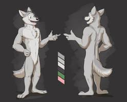 Commission: Gigabit-Dog by Temiree