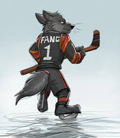 Fang (Zootopian Wolf Athlete) by Temiree