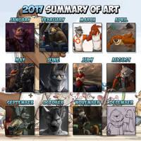 Summary of Art (2017) by Temiree