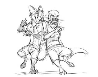 Markus and Tem Broing Out by Temiree