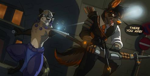 Commission: Busterlark by Temiree