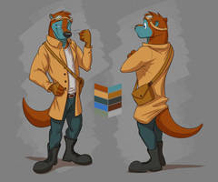Commission: L'estaro's Reference Sheet by Temiree