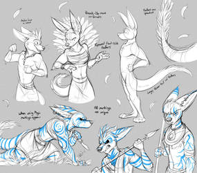 Commission: Sub911 (Siren Sketchpage #2) by Temiree