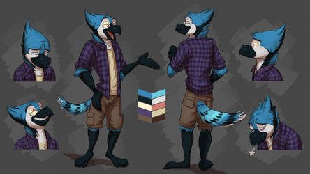 Commission: Ryan's Reference Sheet by Temiree