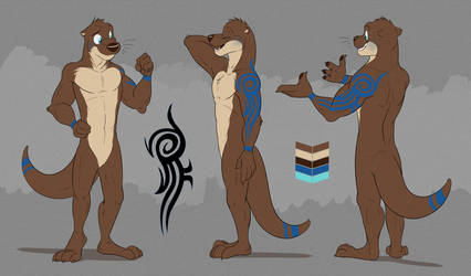Commission: Adrian Swiftspaw's Reference Sheet by Temiree
