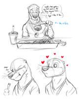 Sushi Unfamilarity by Temiree