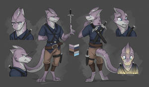 Commission: Elena's Reference Sheet by Temiree