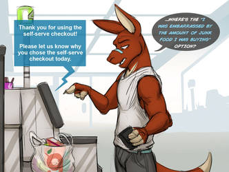 Supermarket Strategy (Comic) by Temiree