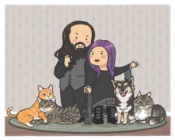 Family portrait by luyidraws