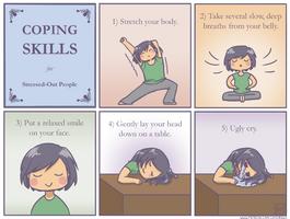 Coping skills. by luyidraws