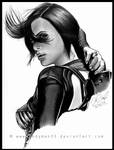 Charlize Theron, Aeon Flux - AEON FLUX. by IndyMan33