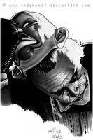 Heath Ledger, The Joker - The Dark Knight by IndyMan33