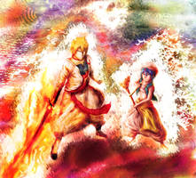 'The Magi and his King' - Magi Draw FanArt by SilverPencilBOX