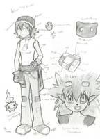 Digimon OC Antonia Breaker by WhispersInTheMirror