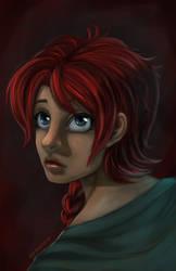 Portrait by WhispersInTheMirror