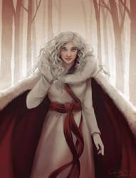 The Silver Witch by LadyEru