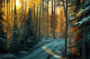 Landscape study 03.05 by artofmarius