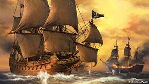 Sails of War 1 by artofmarius