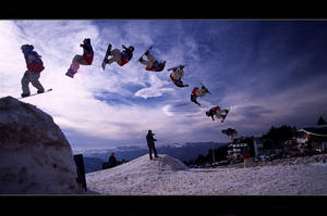 Snowboard - Sequense - Boarder by proboarder
