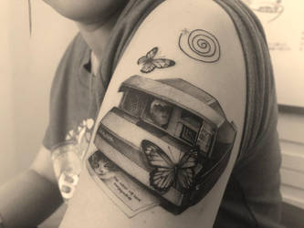 Life is Strange: My Life (Themed Tattoo) by Sorren-Chan