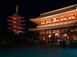 Sensoji Temple - Asakusa, Tokyo, Japan by Sorren-Chan