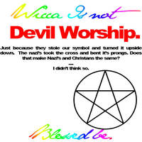 Wicca Is NOT by JAzzXXdancer