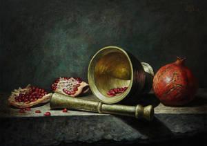 Pomegranate by marcheba