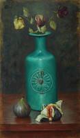 Turquoise vase by marcheba